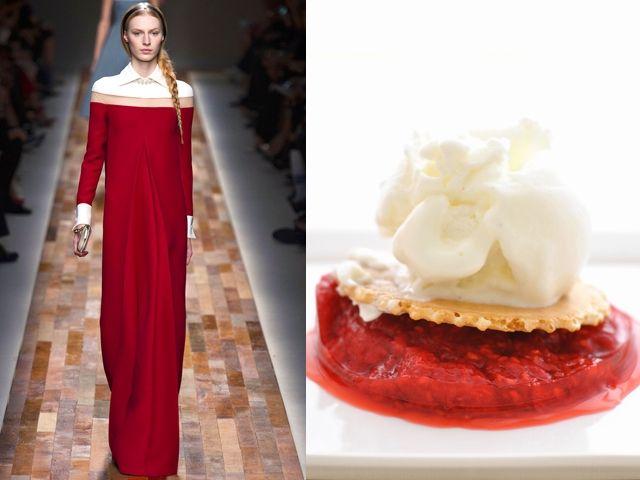 Fashion Food: Taste of Runway menu | Amsterdam Fashion Tv Blog