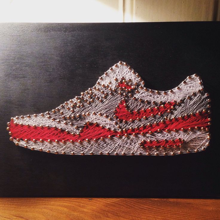7 best sneaker string art by solestitches images on pinterest thread art plimsoll shoe and. Black Bedroom Furniture Sets. Home Design Ideas