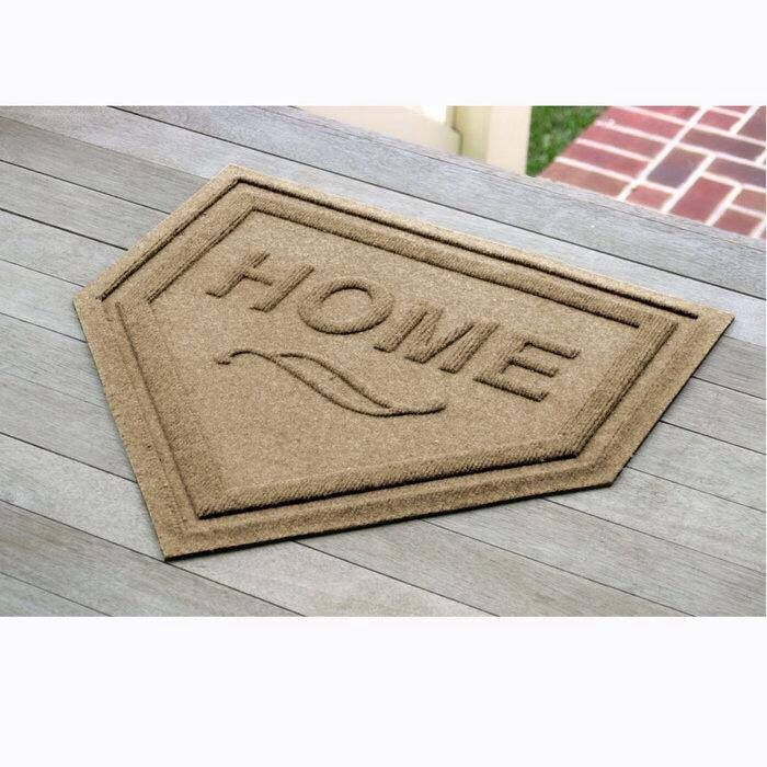 home plate welcome mat!  I want this