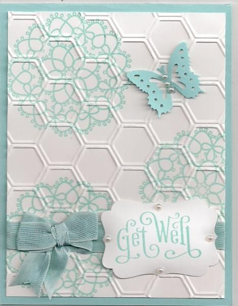 Delicate Doilies Get Well by bmbfield - Cards and Paper Crafts at Splitcoaststampers