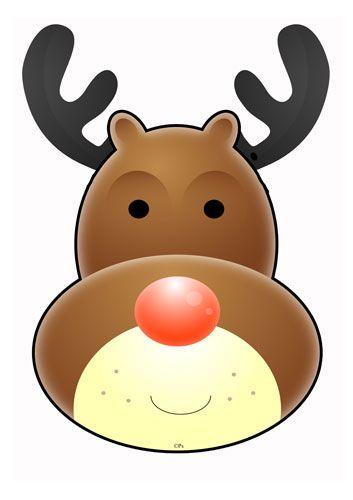17 Best images about Clip - Rudolf on Pinterest | Reindeer ...