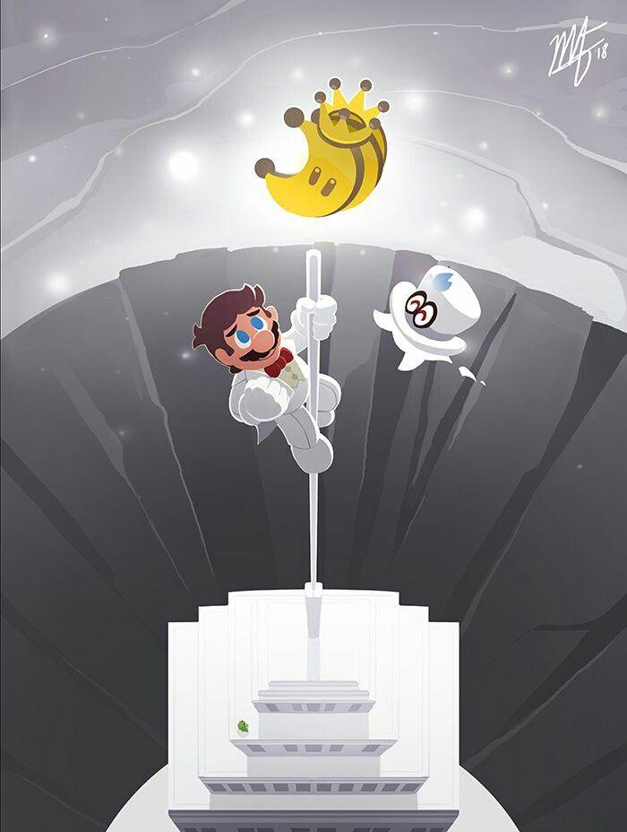 A long journeys end   Super Mario Odyssey!!   Super mario