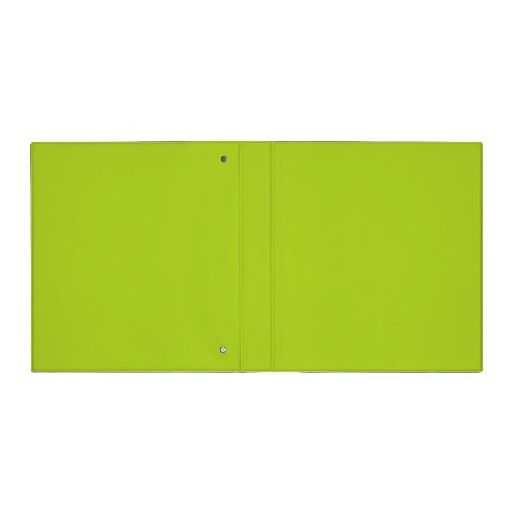Solid green 1 inch binder