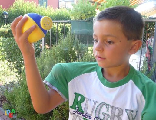 le nostre FANTA-OLIMPIADI: il lancio dell'annaffiatoio