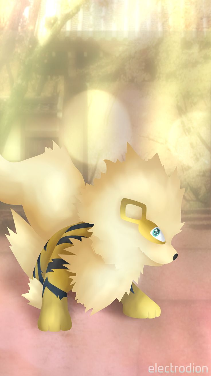#arcanine #pokemon #arkani #shiny