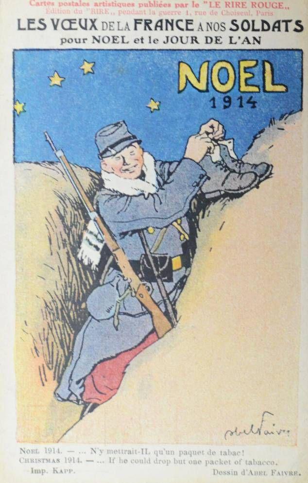 Fêter Noël pendant la Grande guerre