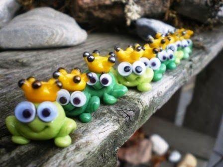 Froschparade für Mutperlen-Projekt in der Schweiz