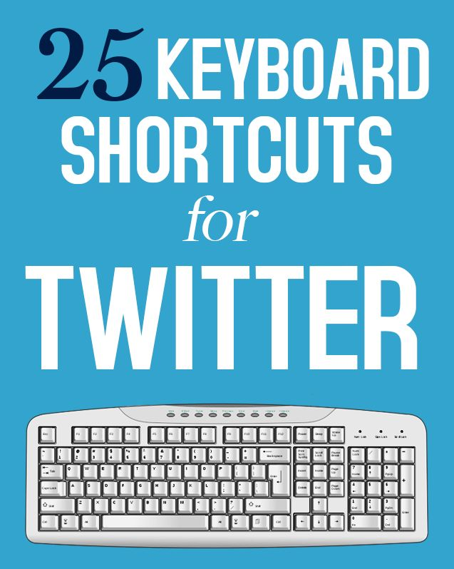 You probably didn't know it, but there are a bunch of keyboard shortcuts for Twitter!