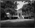 4.  EAST FACADE - Magnolia Mound, 2161 Nicholson Drive, Baton Rouge, East Baton Rouge Parish, LA