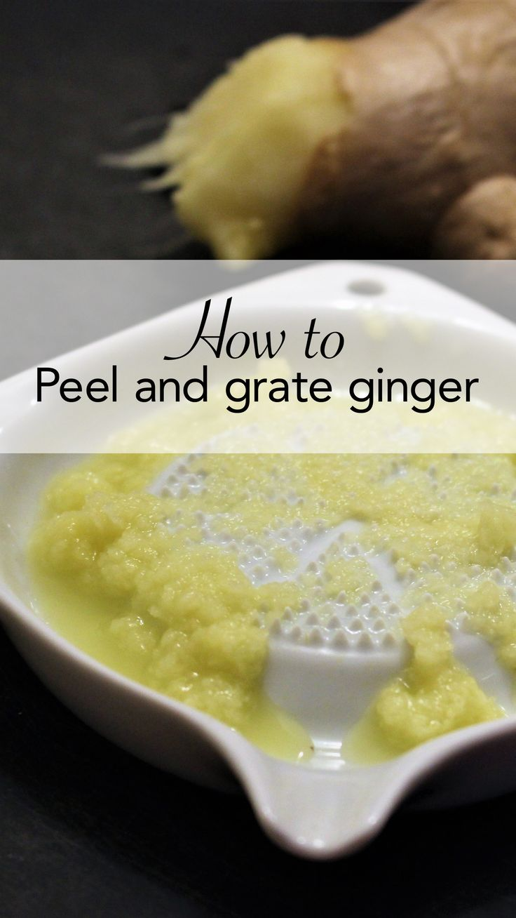 Ginger is delicious. But it's stringy, so it's hard to peel and it's hard to grate.  Unless you have the right tools.  Hint: one of them you already have in your kitchen.  This post shows you a ginger peeling hack and a handy tool you can pick up for under five bucks.  If you like ginger, you have to check this out.