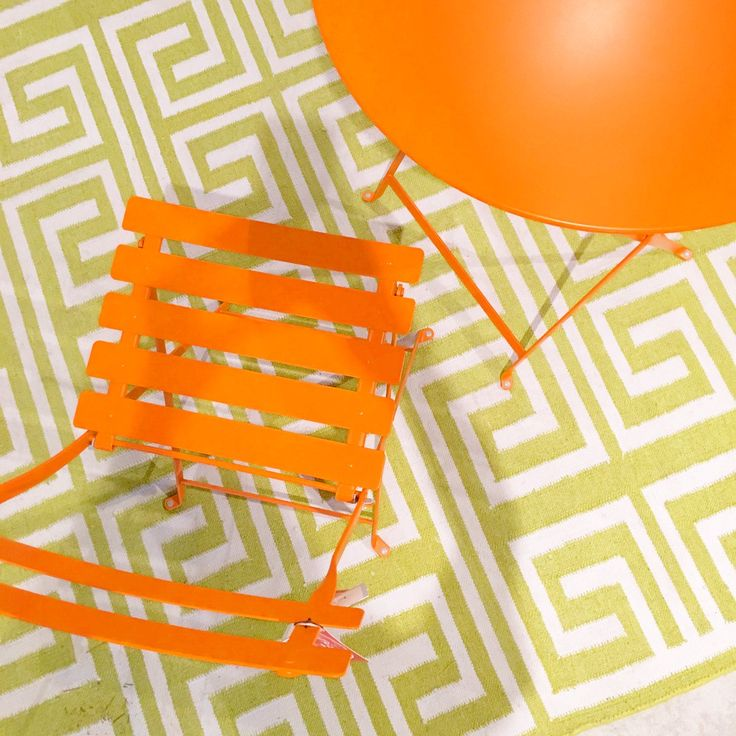 Kolo Collection - This bright #colorplay from @FermobUSA is the perfect #summer set up!