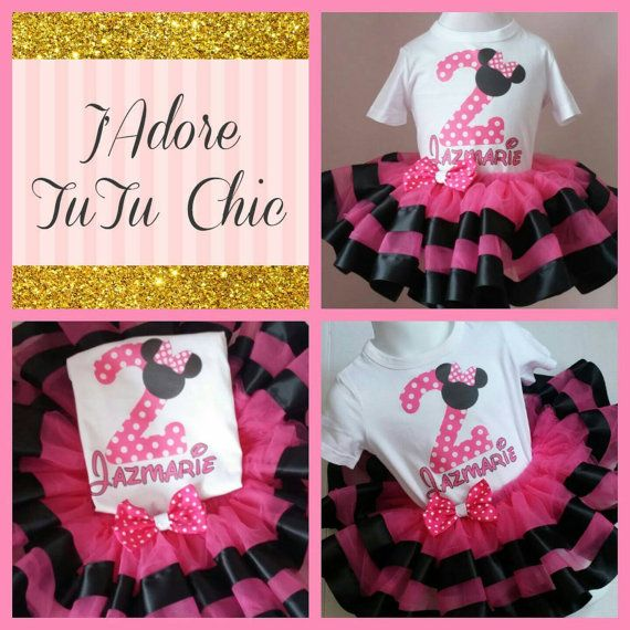 Check out this item in my Etsy shop https://www.etsy.com/ca/listing/249219622/minnie-mouse-birthday-outfit-ribbon