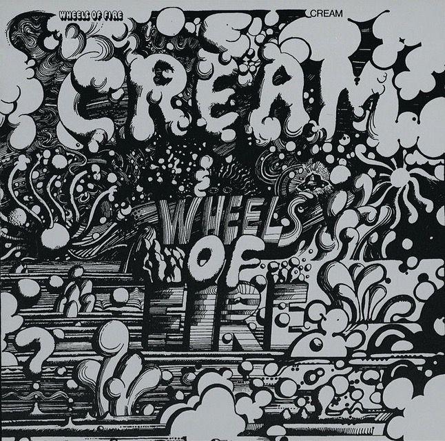 """The song """"As You Said"""" seems to fit the day. From Cream off their Wheels of Fire album. 1968"""