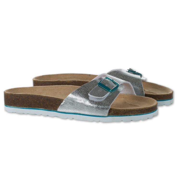 Sklep internetowy C&A | Sandały, kolor:  srebrny | Dobra jakość w niskiej cenie