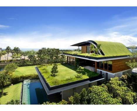 Green Hobbit Hotels - This Submerged Eco Abode by Activate Architects Rejuvinates Its Environment
