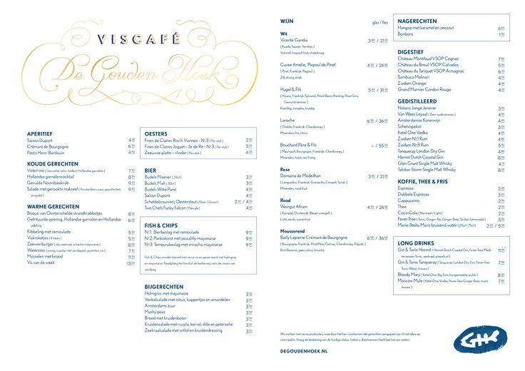 Viscafé de Gouden Hoek, Stirumplein 10a, Amsterdam
