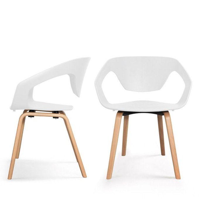Danwood 2 fauteuils de table scandinaves Drawer | La