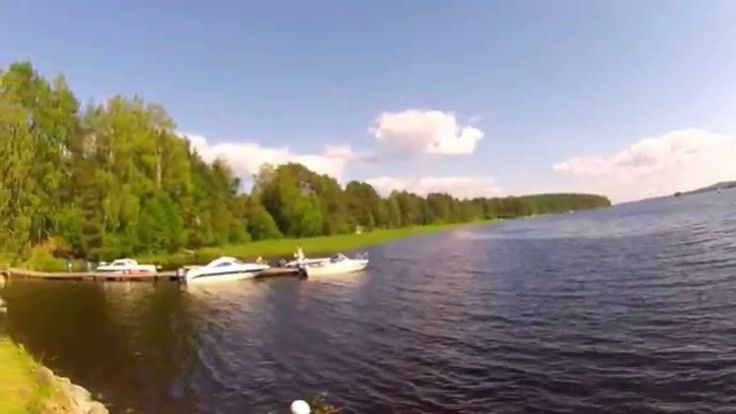 Video of motorboat trip to Vehmersalmi community and Millibaari, famed for its summertime pizzas. Kuopio, Finland.
