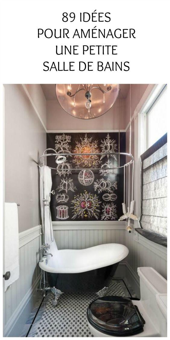Les 25 meilleures id es concernant rideau de baignoire sur pinterest shabby chic shabby et - Reactie amenager une petite salle de bain ...