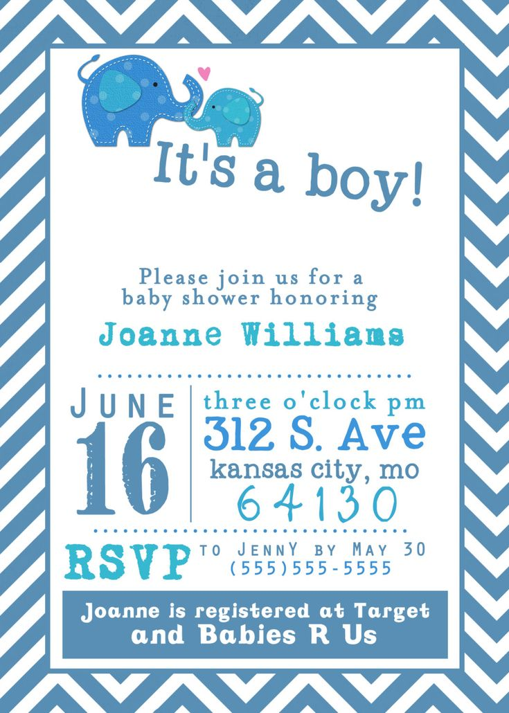 Baby Shower Templates For Boy ~ Best images about baby shower invites on pinterest