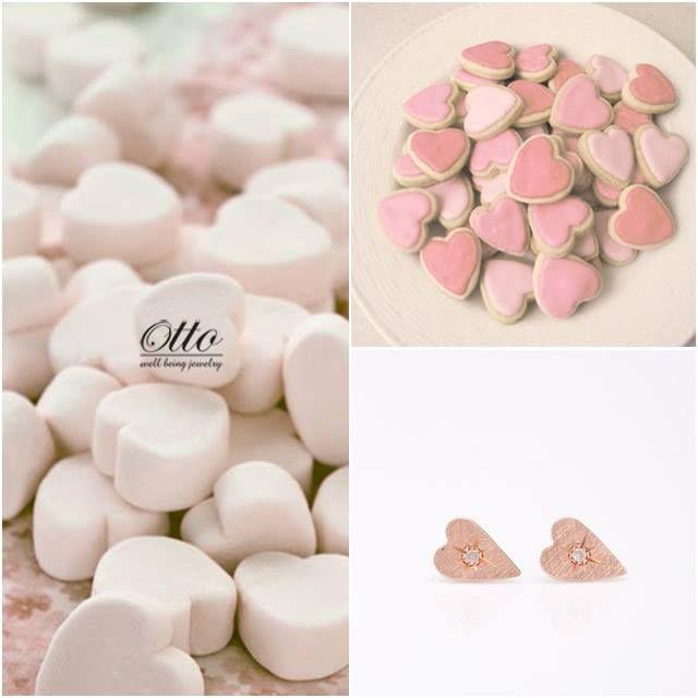 #ottojewels #sweet #cake #jewels #jewelry #heart #pink #woman #earring #orecchini #cuori #earrings #accessories #otto