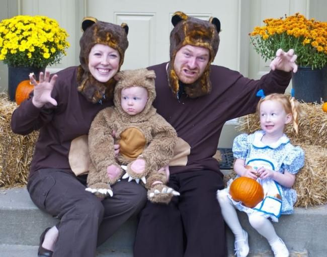 Goldilocks And The Three Bears Costumes.