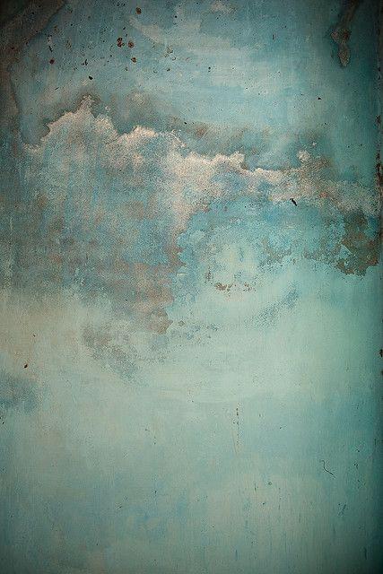 Verdigris Map  Texture in turquoise