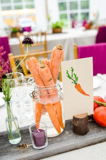 Vegetables Used In Wedding Centerpieces