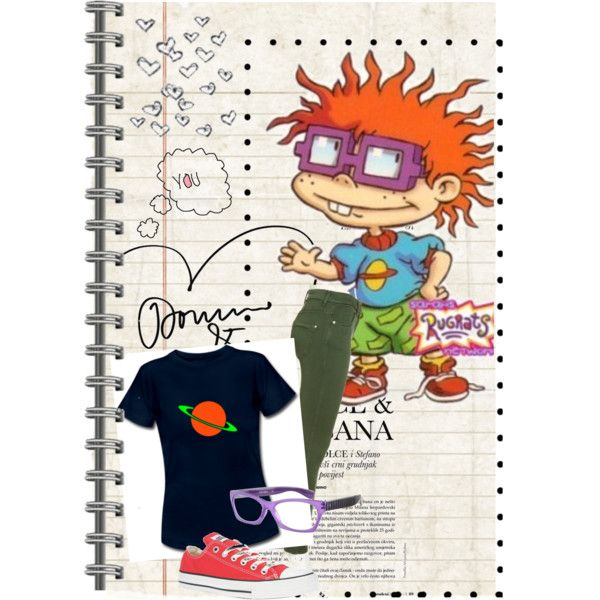 """""""Chuckie Finster"""" I wonder if anyone notice who the outfit is inspired by"""