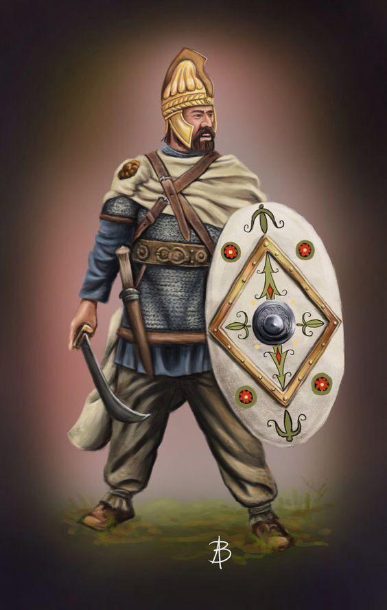Dacian warrior leader