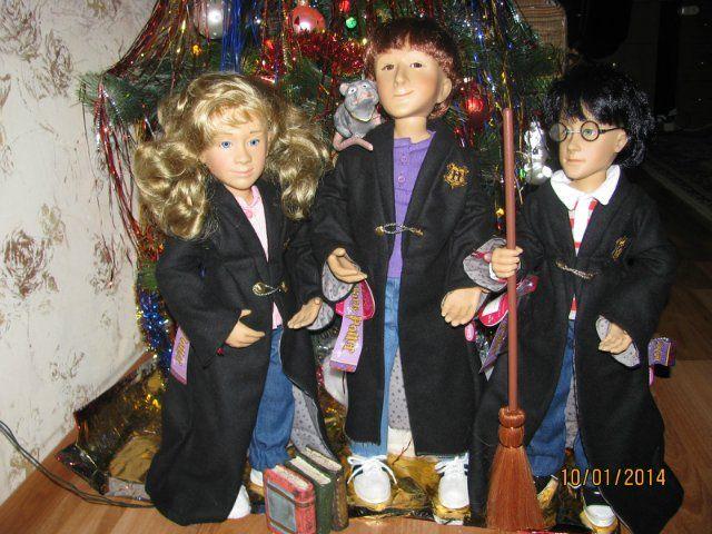Гарри Поттер для Gotz, 2001г. / Коллекционные куклы (винил) / Шопик. Продать купить куклу / Бэйбики. Куклы фото. Одежда для кукол