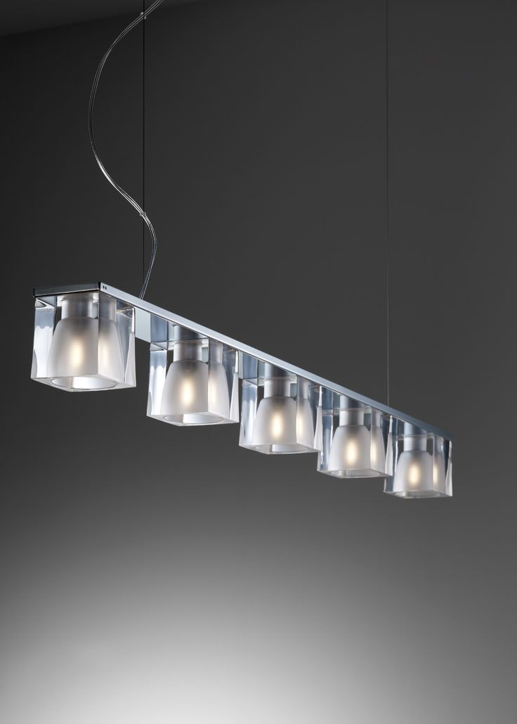 D28 Cubetto chandelier - Fabbian Illuminazione