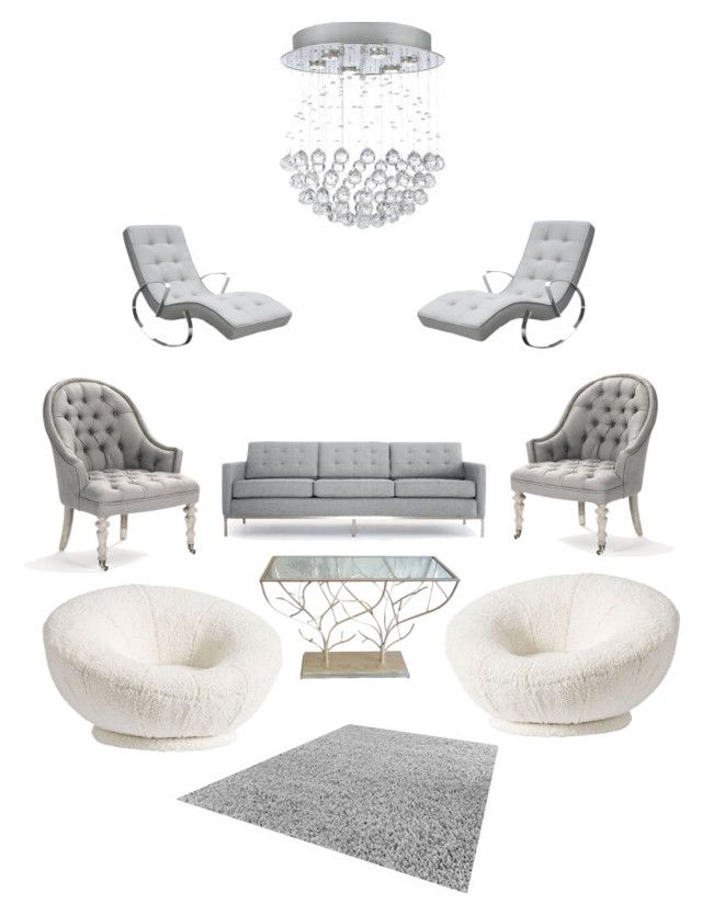 """Untitled #211"" by rekac on Polyvore featuring interior, interiors, interior design, home, home decor, interior decorating, PBteen and Joybird"