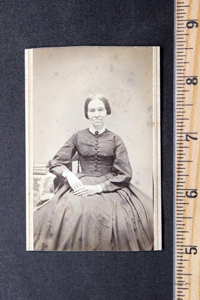 CDV by L. Morton, Southbridge, Ma, USA. 1860's. From eBay