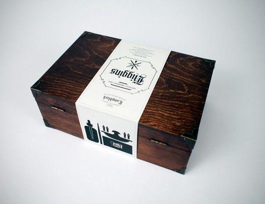 Creative wooden box design