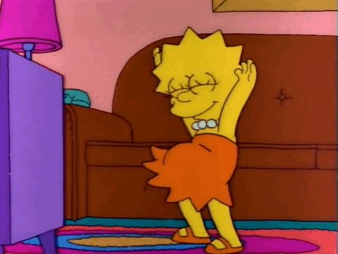 You live that #bodypositivity life. | 29 Signs You're The Lisa Simpson Of Your Family