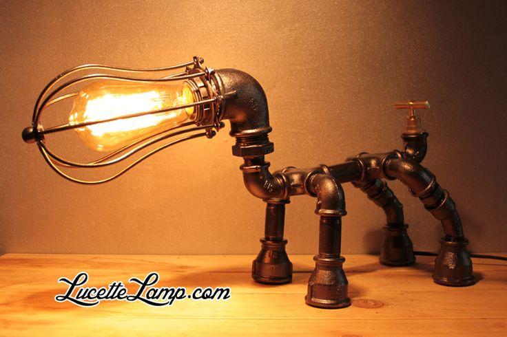 les 25 meilleures id es de la cat gorie lampe en tuyau sur pinterest lampes industrielles. Black Bedroom Furniture Sets. Home Design Ideas