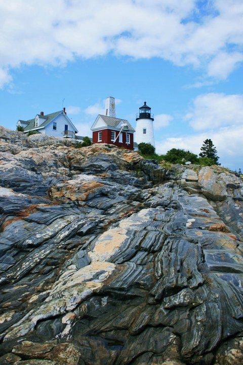 Pemaquid Point Lighthouse, Maine - had many school and group trips there during my early school years