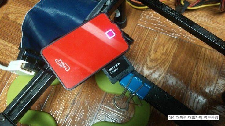 16GB 마이크로 SD 메모리카드, 삼성카메라 NX500, 사진복구 및 동영상데이터복구 사례카메라와 컴퓨터상에서 메모리카드인식은 되나, 자료가 몽땅 지워진 경우입니다.아마, 자체적...