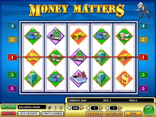 Bet & win with the Money Matters casino slot game at Ceres Poker. Money Matters slot game is exciting bonus game with five-reel slot machine & 5 paylines.
