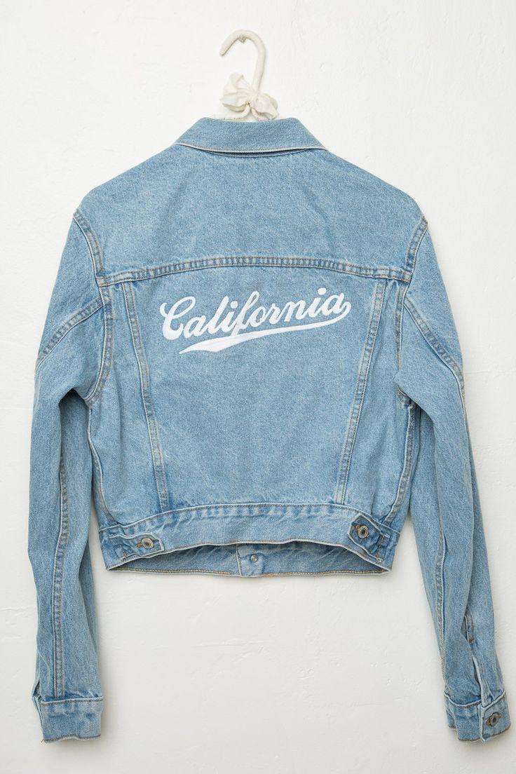 Brandy ♥ Melville | Jackson California Denim Jacket - Graphics                                                                                                                                                     Mais