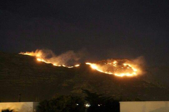 From Marina da Gama - ring of fire