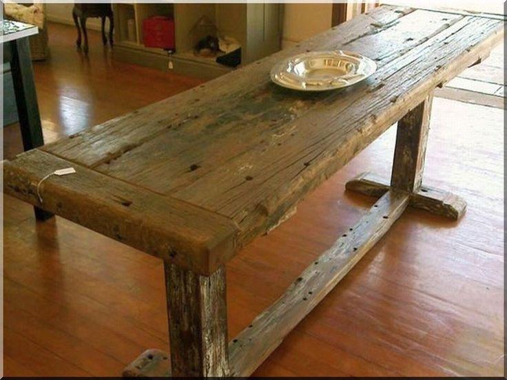 Antik étkezőasztal