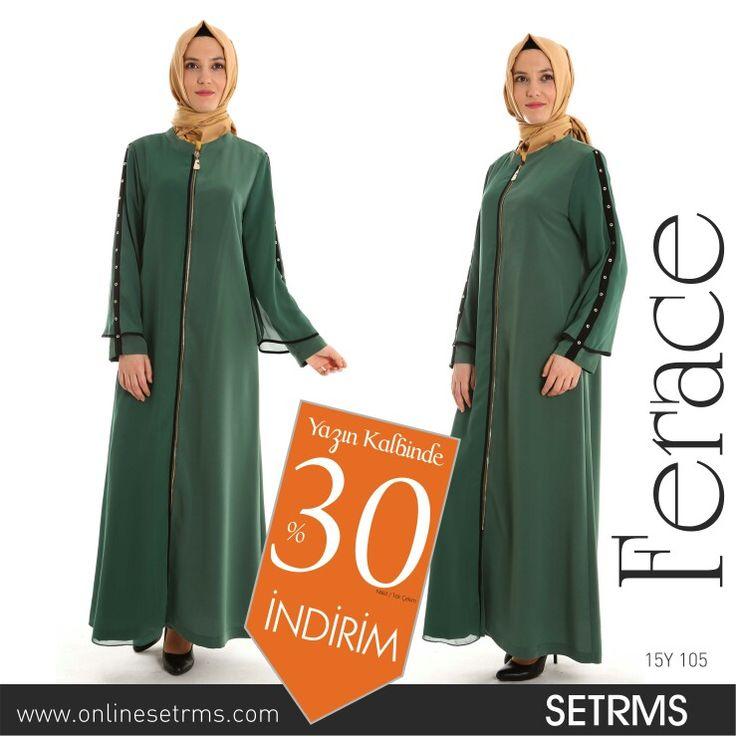 Hanımefendilerin gardroplarının vazgeçilmezi SETRMS Ferace modellerinde de %30 SETRMS özel İNDİRİM Fırsatı sizin için...  SETRMS Mağazalarında, SETRMS ONLINE Mağazada www.onlinesetrms.com