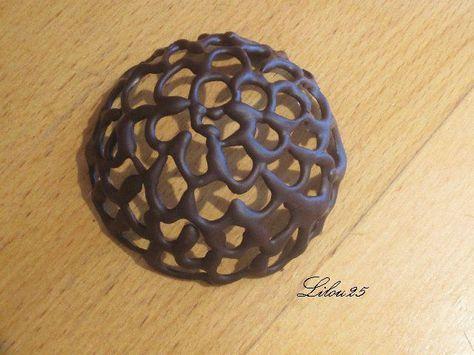 Coque dentelle en chocolat Astuce Plus