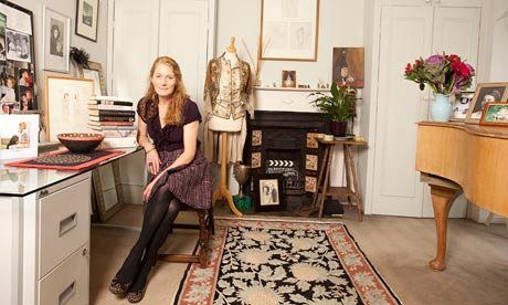 """""""I'm not very showy"""": Geraldine James, actor, at home in south London. The star of stage and screen opens the door to her private study"""