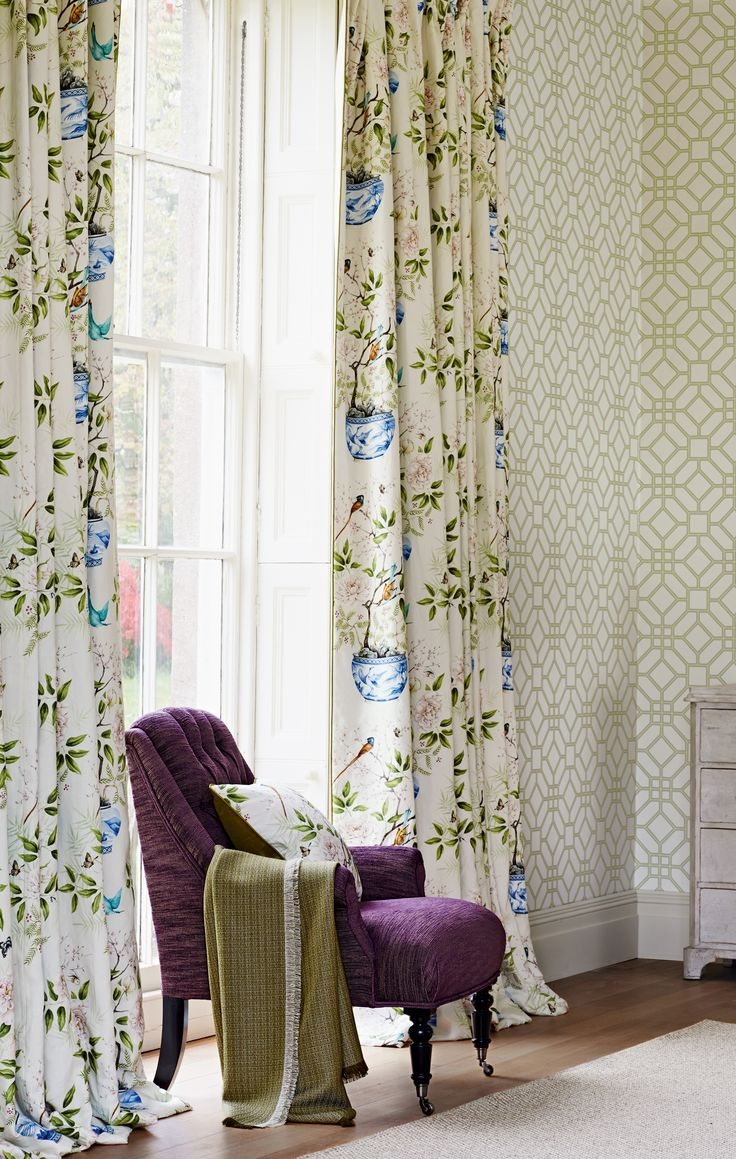 68 best Zoffany SS14 - Woodville images on Pinterest | Fabric wall ...