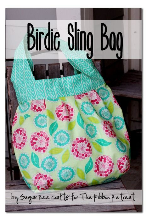 Birdie Sling Bag - The Ribbon Retreat Blog