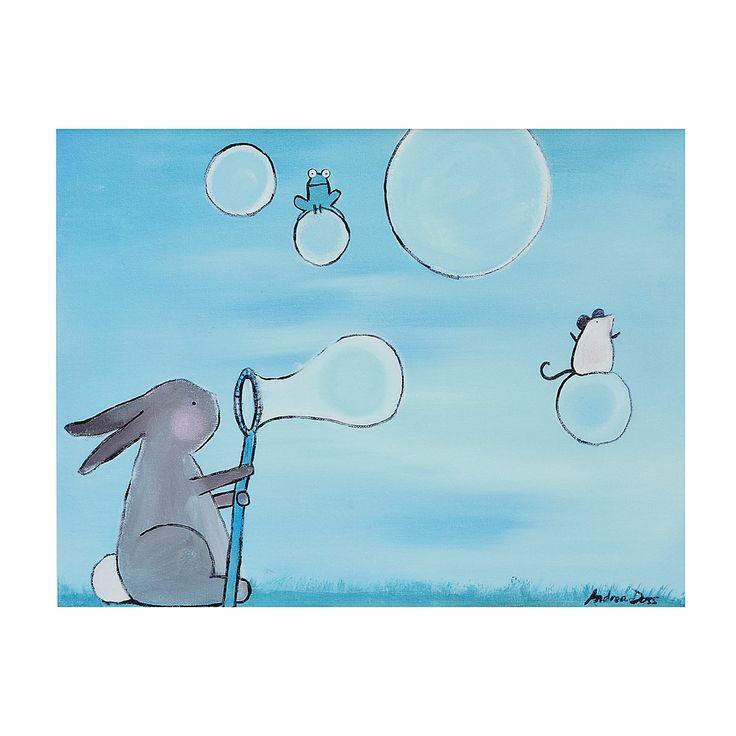 Bubbles by Andrea Doss #Illustration #Bubbles #Andrea_Doss