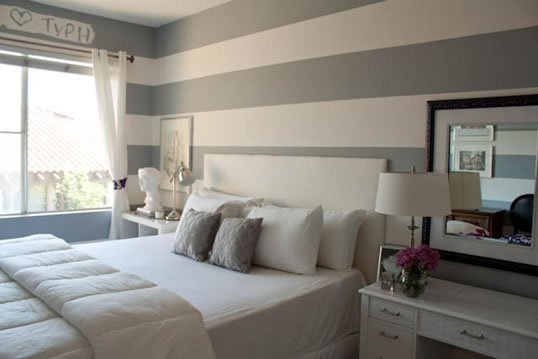 Bedroom/Sleeping Alcove paint idea.